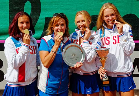 Russia scores 16&U Summer Cups double