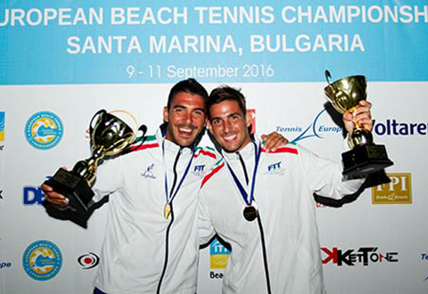 European Beach Tennis Championships Entries