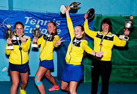 Spain & Ukraine claim 14&U Winter Cups crowns
