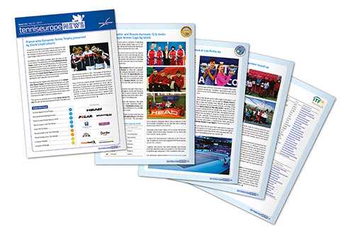 Tennis Europe News - Issue 133