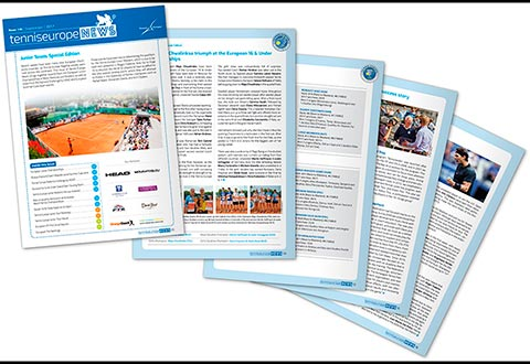 Tennis Europe News - Issue 136